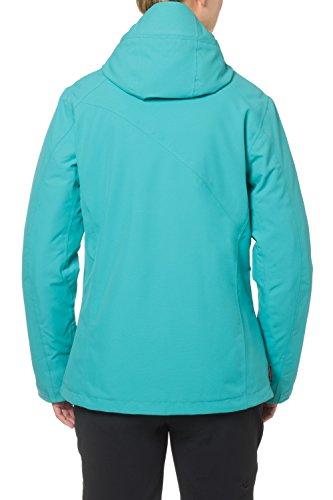 VAUDE womens roga veste veste pour femme Turquoise - Hummingbird