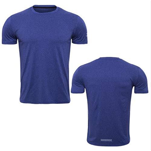 4d9c5e3a Men's Exercise & Fitness Apparel Golf Clothing Running Hiking Sports Fan  Shop,Mens Fitness Short Sleeves Rashguard T-Shirt Bodybuilding Skin ...