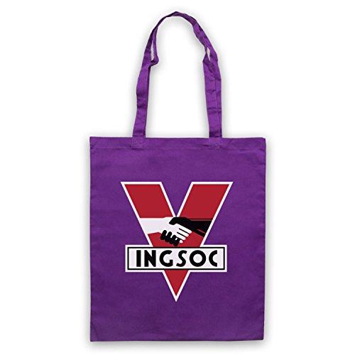 Ispirato Da Diciannovequattro 1984 Ingsoc Partito Politico Logo Non Ufficiale Del Capo Viola