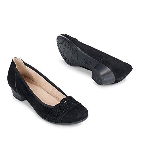 Caprice 22303-26-004, Scarpe col tacco donna Nero (nero)