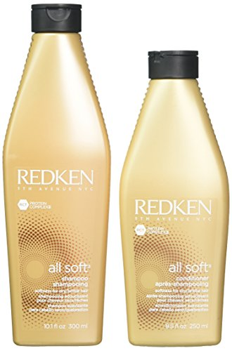 Redken All Soft 300 ml Shampoo + 250 ml Conditioner (Combo Deal)