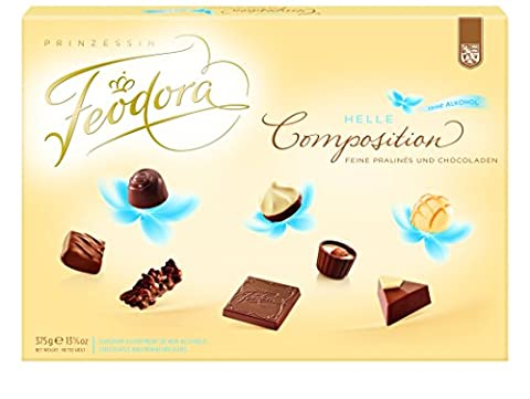Feodora Chocolade Helle Composition ohne Alkohol, 1er Pack (1 x 375 g)