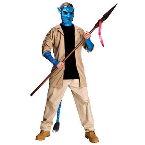 Herren-Kostüm Jack Sully aus Avatar, Gr. Standard