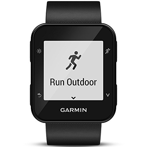 Garmin Forerunner 35 GPS-Laufuhr - Herzfrequenzmessung am Handgelenk, Smart Notifications, Lauffunktionen -