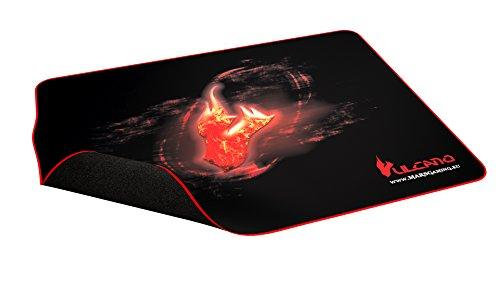Tacens MMPVU1 - Alfombrilla para ratón Gaming, color negro y rojo
