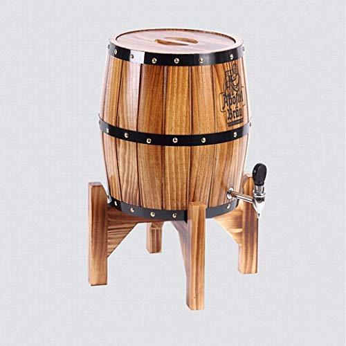 MUTANG Figuras Verticales Barriles de Roble, Vino de Madera, Vino Blanco Barriles de Vino Barriles Decorativos Whisky Cerveza, Vino Borbón Brandy 3 Colores (Color : B)