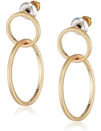 Pilgrim Women Gold Plated Stud Earrings - 341744033 jwHdlYc
