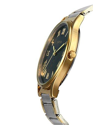SPYN Exclusive Roman Dial golden casual wrist watch for Men