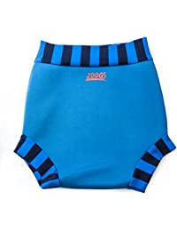 Zoggs Babies Swim Sure Neoprene Nappy for Boys - Blue, 18-24 Months