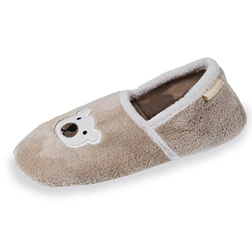 Chaussons slippers ourson femme