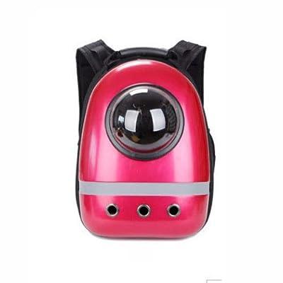 MUMUMI Pet Out, Portable, Mochila Pet Mochila Cápsula espacial Transpirable Correa para el hombro ajustable Diseñada para viajes, salidas, caminatas y uso en exteriores Bolso para mascotas Se pueden u de MUMUMI