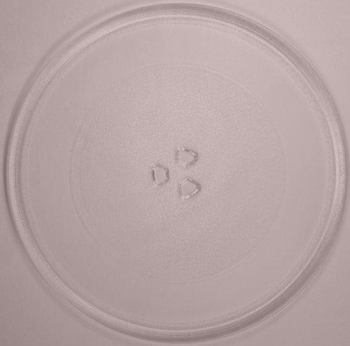 Mikrowellenteller / Drehteller / Glasteller für Mikrowelle # ersetzt Küppersbusch Mikrowellenteller # Durchmesser Ø 32 cm / 320 mm # Ersatzteller # Ersatzteil für die Mikrowelle # Ersatz-Drehteller # OHNE Drehring # OHNE Drehkreuz # OHNE Mitnehmer