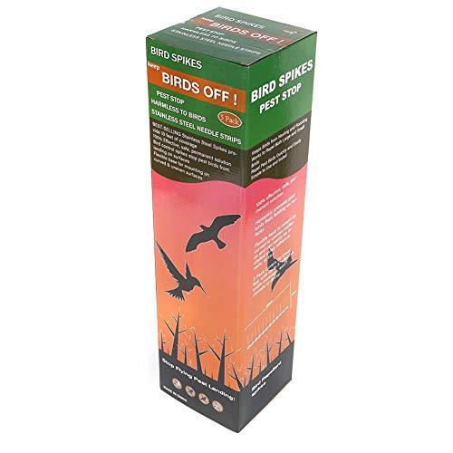 Ersatzglühbirnen Für Weihnachtsbeleuchtung.50cm Eco Friendly Stainless Steel Bird Spikes For Pigeons And Other Small Birds Fence Security Control Deterrent Kit