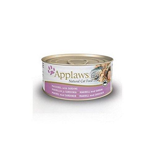 Applaws Katzen Pacific Makrelen Und Sardinen (70G) (Pacific Huhn)