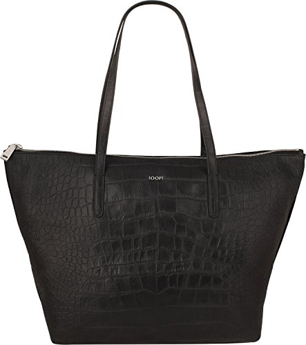 Joop! Croco Soft Helena Sac fourre-tout Shopper cuir 40 cm Black