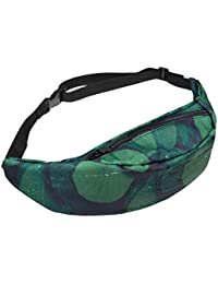 F : VENMO Women Bum Bag Fanny Pack For Running Sports Festival Colorful Ladies Waist Belt Bag Money Change Pouch...