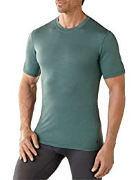 Smartwool Unterhemd T-Shirt Men's NTS Micro 150 Tee - Camiseta, color gris (sea pine), talla l