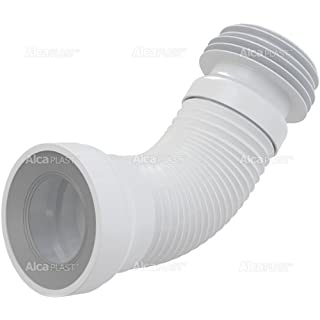 Alca WC Flexi Pan Connector For Toilet - Universal - Fits Pipe 100-120mm, WC 80-110mm by Alca Plast