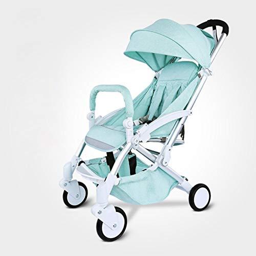 HYCy Baby Stroller, Folding Four Wheeler, Aluminum Alloy Frame, Oxford Cloth Cover Fabric -