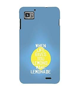 EPICCASE Make Lemonade Mobile Back Case Cover For Lenovo K860 (Designer Case)