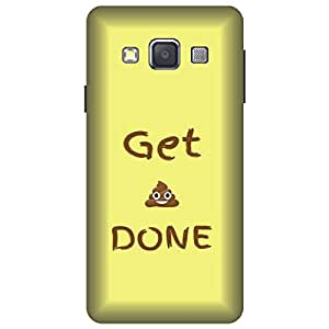 Wizzart Samsung Galaxy On7 Pro (G600F) Back Cover Case In Print Designer Cases And Covers Get done Print Design