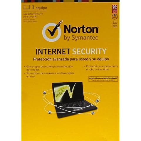 Norton Internet Security 2013 - paquete de suscripción Estándar Español 1 usuario