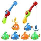 Nuheby Badewannenspielzeug Wasserspielzeug Badespielzeug Babyspielzeug Badespaß für Kinder Junge und Mädchen 18 Monate
