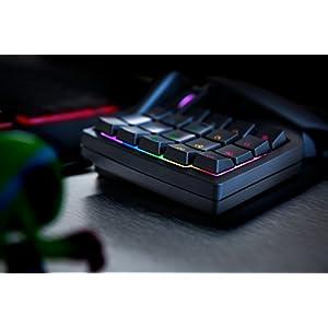 Razer Orbweaver Chroma – Elite RGB Mechanical Switches Gaming Keypad – Adjustable Hand,