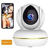 SuperEye WLAN IP Kamera mit Nachtsicht,1080P WiFi Überwachungskamera Indoor,Smart Home WiFi Kamera,Bewegungsmelder,2-Way Audio,App Kontrolle Haus Monitor Haustier Kamera,Unterstützt Fernalarm