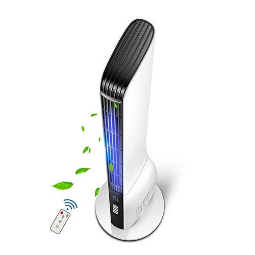 NZ-FAN-YINGYU Fans Electric Tower Home Mute Floor Remote Control Shaking Head Vertical Leafless 40W -