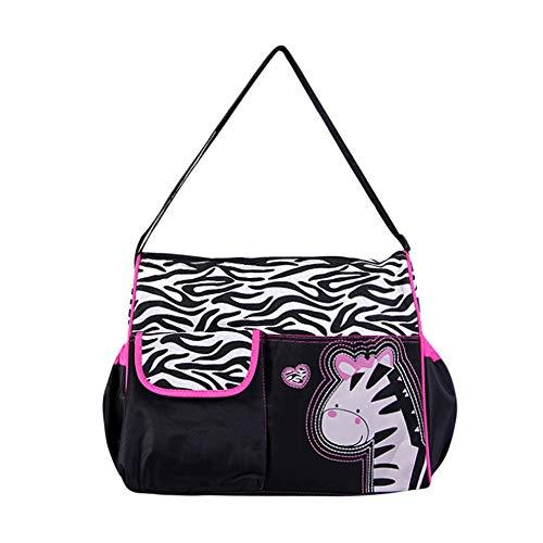 Charakter Tragbare Tasche Serria® Große Kapazität Multifunktional Handtasche Organizer für Baby Care, Wasserdicht Rosa - Charakter Tasche