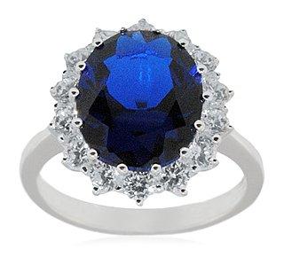 Damen-Ring 9 Diamanten PR03700PTJPK-L-p