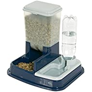 Karlie 44046 Duo Max Food and Water Dispenser 5 Litre