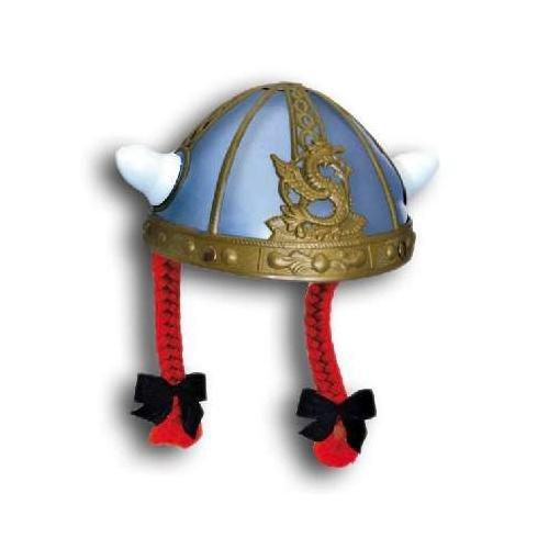 GIPLAM 19x 13cm Französische Helm mit Zöpfen (One Size)