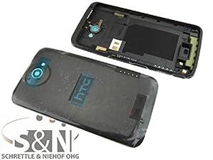 NG-Mobile Original HTC ONE XL Back Cover Gehäuse Kleber Akkudeckel Hinterschale Antenne schwarz