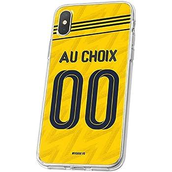 Housse de Smartphone personnalis/ée et fabriqu/ée en France en TPU MYCASEFC Coque Foot Barcelone Samsung Galaxy Note 10 Coque Football Personnalisable en Silicone