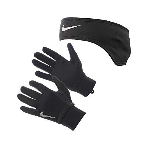 NIKE Thermal Headband and Glove Women's Running Set Nike Womens Thermal
