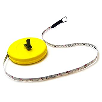 30 m Fiberglas Bandmaß Messband Rollbandmaß Maßband Messbänder