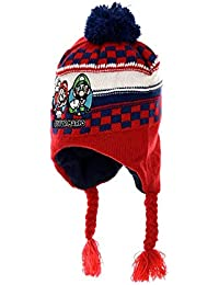 4a9c4381f4cf Amazon.fr   bonnet peruvien enfant - Rouge   Vêtements
