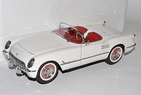 Chevrolet Corvette C1 Cabrio Weiss Offen 1953-1962 71081 1/18 AutoArt Modell Auto