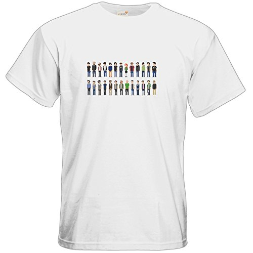 getshirts - Rocket Beans Classic - T-Shirt - Retro Collection - Pixelbohnen White