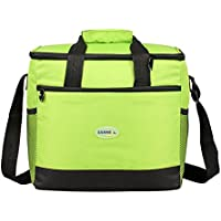 Bonnoeuvre16l Bolsa Térmica Porta Alimentos bolsa de almuerzo Nevera Portátil para Enfriamiento Alimentos Almuerzo Lunch Bag (Verde)