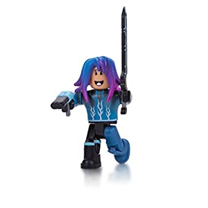 Roblox Blue Lazer Parkour Runner Figura Pack