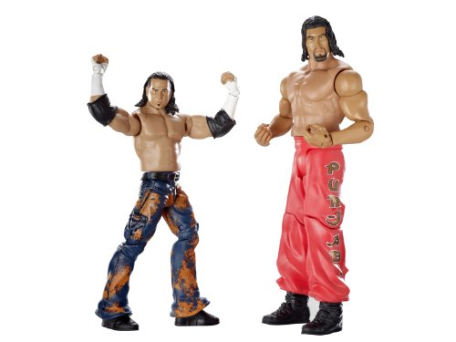 Matt Hardy & The Great Khali Figuren Set - WWE Basis Doppelpacks 8