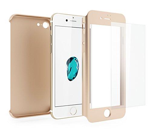 Cover-iPhone-7-360-Gradi-Pellicola-Vetro-Temperato-Mobilyos-360--Oro-Custodia-iPhone-7-360-Gradi-Pellicola-Protettiva-in-Vetro-Temperato-per-iPhone-7-2016