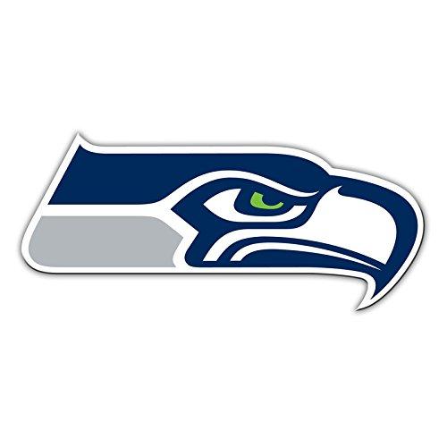 NFL Shop Authentic 30,5cm Magnet Team Banner Helm/Logo, Seattle Seahawks Logo ()