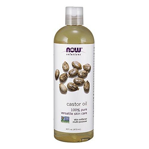 Ahora soluciones aceite de ricino, 100% Pure, 16oz