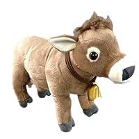 Wild Republic 18497 Plush Cow with Cowbell Soft, Cuddlekins Cuddly Toys, 30 cm, Brown