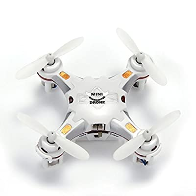 Senioroy FQ777-124 Micro Drone 4CH 6Axis Gyro Pocket Quadcopter Switchable Controller CF Mode One Key To Return 3D Roll MAV RTF