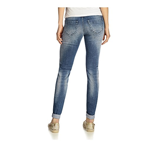Fritzi aus Preussen Damen Skinny Jeans A06 Indian Dark Blue